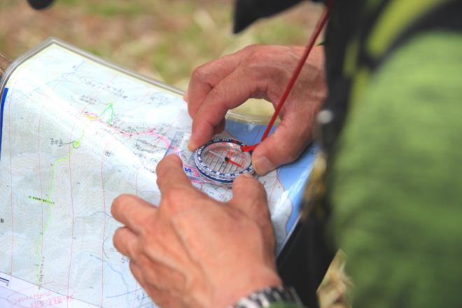 登山地図読み