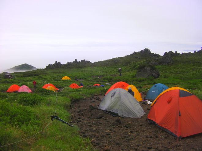 登山 テント泊