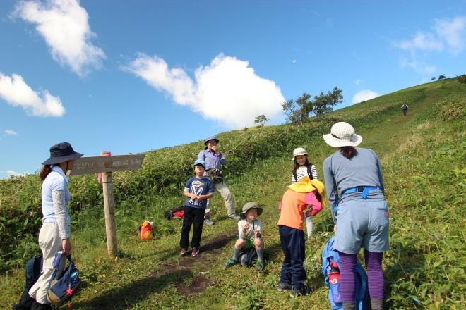 西別岳 わくわく親子登山会