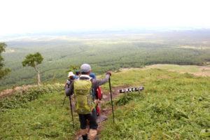 西別岳から見る根釧台地