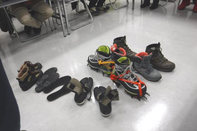 夏山登山靴