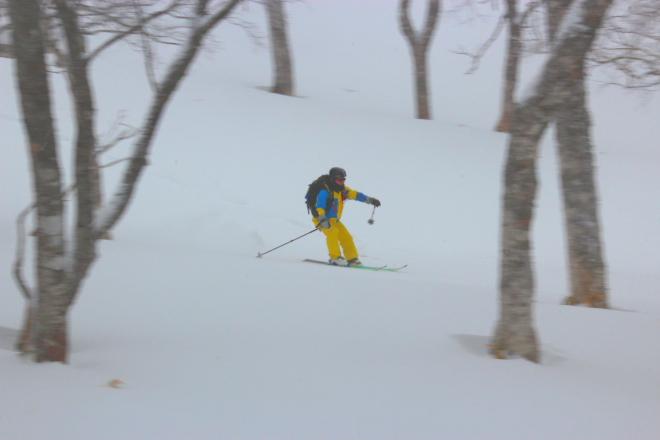 冬山スキー