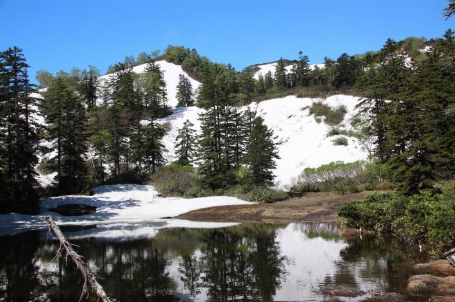 大雪高原沼