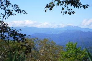 忠別岳と緑岳