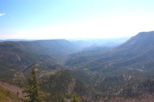 クマネシリ岳 南側展望、士幌方面
