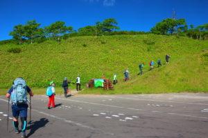 藻琴山登山口