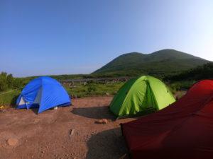 二ツ池キャンプ指定地